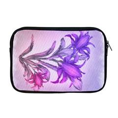 Flowers Flower Purple Flower Apple Macbook Pro 17  Zipper Case