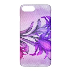 Flowers Flower Purple Flower Apple Iphone 8 Plus Hardshell Case