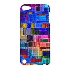Background Art Abstract Watercolor Apple Ipod Touch 5 Hardshell Case