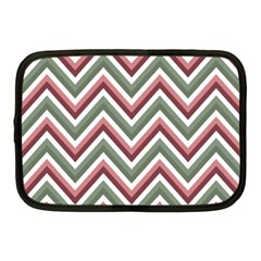Chevron Blue Pink Netbook Case (medium)