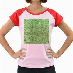 Knittedwoolcolour2 Women s Cap Sleeve T Shirt