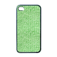 Knittedwoolcolour2 Apple Iphone 4 Case (black)