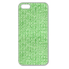 Knittedwoolcolour2 Apple Seamless Iphone 5 Case (clear)