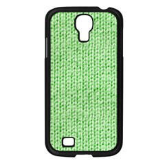 Knittedwoolcolour2 Samsung Galaxy S4 I9500/ I9505 Case (black)