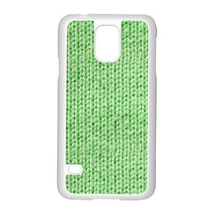 Knittedwoolcolour2 Samsung Galaxy S5 Case (white)