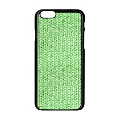 Knittedwoolcolour2 Apple Iphone 6/6s Black Enamel Case
