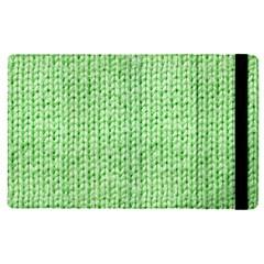 Knittedwoolcolour2 Apple Ipad Pro 9 7   Flip Case