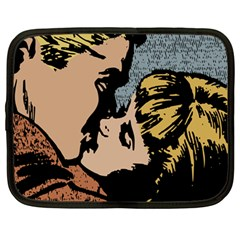 Kiss Kiss Netbook Case (large)
