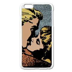 Kiss Kiss Apple Iphone 6 Plus/6s Plus Enamel White Case