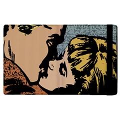 Kiss Kiss Apple Ipad Pro 12 9   Flip Case