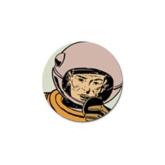 Astronaut Retro Golf Ball Marker (4 Pack)