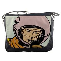 Astronaut Retro Messenger Bags