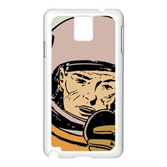 Astronaut Retro Samsung Galaxy Note 3 N9005 Case (white)