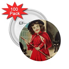Haloweencard3 2 25  Buttons (100 Pack)