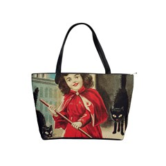 Haloweencard3 Shoulder Handbags