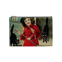 Haloweencard3 Cosmetic Bag (medium)