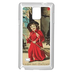 Haloweencard3 Samsung Galaxy Note 4 Case (white)