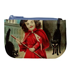 Haloweencard3 Large Coin Purse