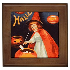 Haloweencard2 Framed Tiles