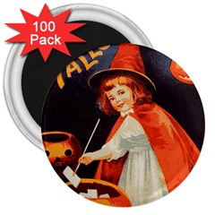 Haloweencard2 3  Magnets (100 Pack)