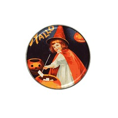 Haloweencard2 Hat Clip Ball Marker (4 Pack)