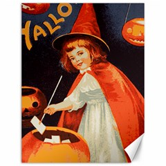 Haloweencard2 Canvas 12  X 16