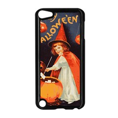 Haloweencard2 Apple Ipod Touch 5 Case (black)