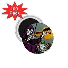 Playing Skeleton 1 75  Magnets (100 Pack)