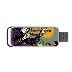 Playing Skeleton Portable Usb Flash (one Side)