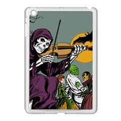 Playing Skeleton Apple Ipad Mini Case (white)