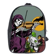 Playing Skeleton School Bag (xl)