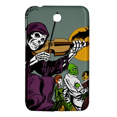 Playing Skeleton Samsung Galaxy Tab 3 (7 ) P3200 Hardshell Case