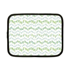 Wavy Linear Seamless Pattern Design  Netbook Case (small)