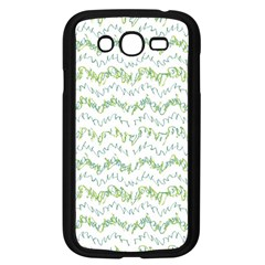 Wavy Linear Seamless Pattern Design  Samsung Galaxy Grand Duos I9082 Case (black)