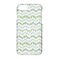 Wavy Linear Seamless Pattern Design  Apple Iphone 8 Hardshell Case