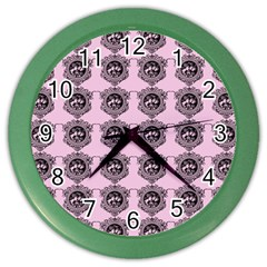 Three Women Pink Color Wall Clocks