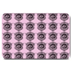 Three Women Pink Large Doormat
