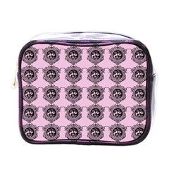 Three Women Pink Mini Toiletries Bags