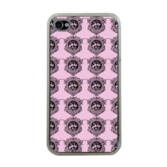 Three Women Pink Apple Iphone 4 Case (clear)