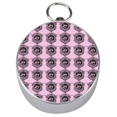 Three Women Pink Silver Compasses