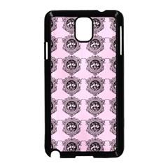 Three Women Pink Samsung Galaxy Note 3 Neo Hardshell Case (black)