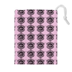Three Women Pink Drawstring Pouches (extra Large)