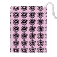 Three Women Pink Drawstring Pouches (xxl)