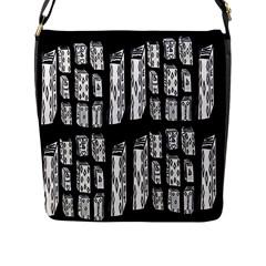 On Deck Flap Messenger Bag (l)