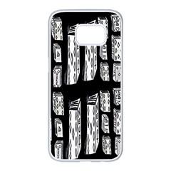 On Deck Samsung Galaxy S7 Edge White Seamless Case
