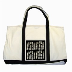 Numbers Cards 7898 Two Tone Tote Bag