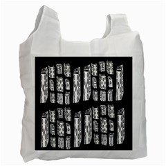 Numbers Cards 7898 Recycle Bag (two Side)