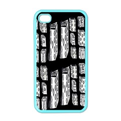 Numbers Cards 7898 Apple Iphone 4 Case (color)