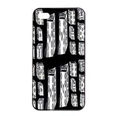 Numbers Cards 7898 Apple Iphone 4/4s Seamless Case (black)