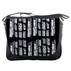 Numbers Cards 7898 Messenger Bags